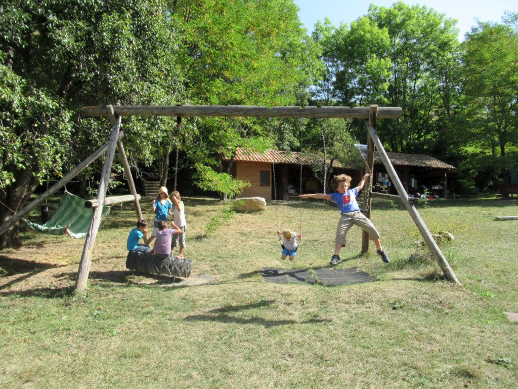 Ecole d'Eourres - Camp Nature