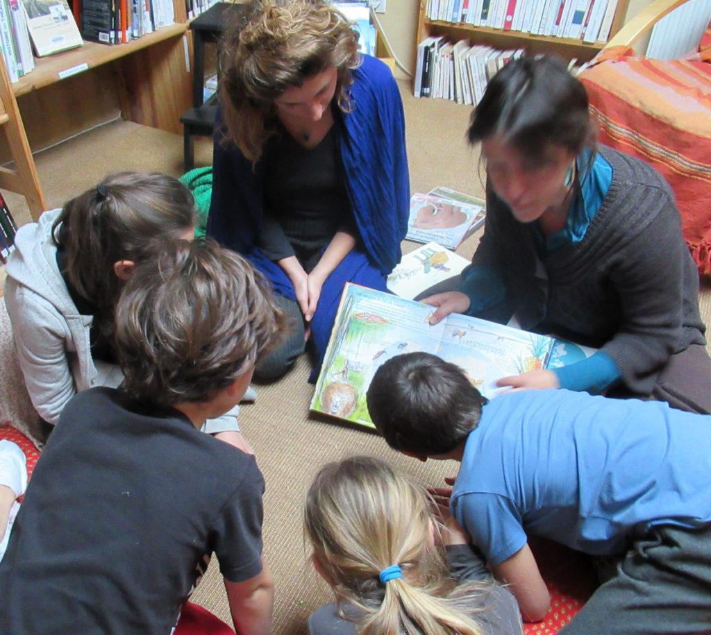 Ecole d'Eourres - Lecture