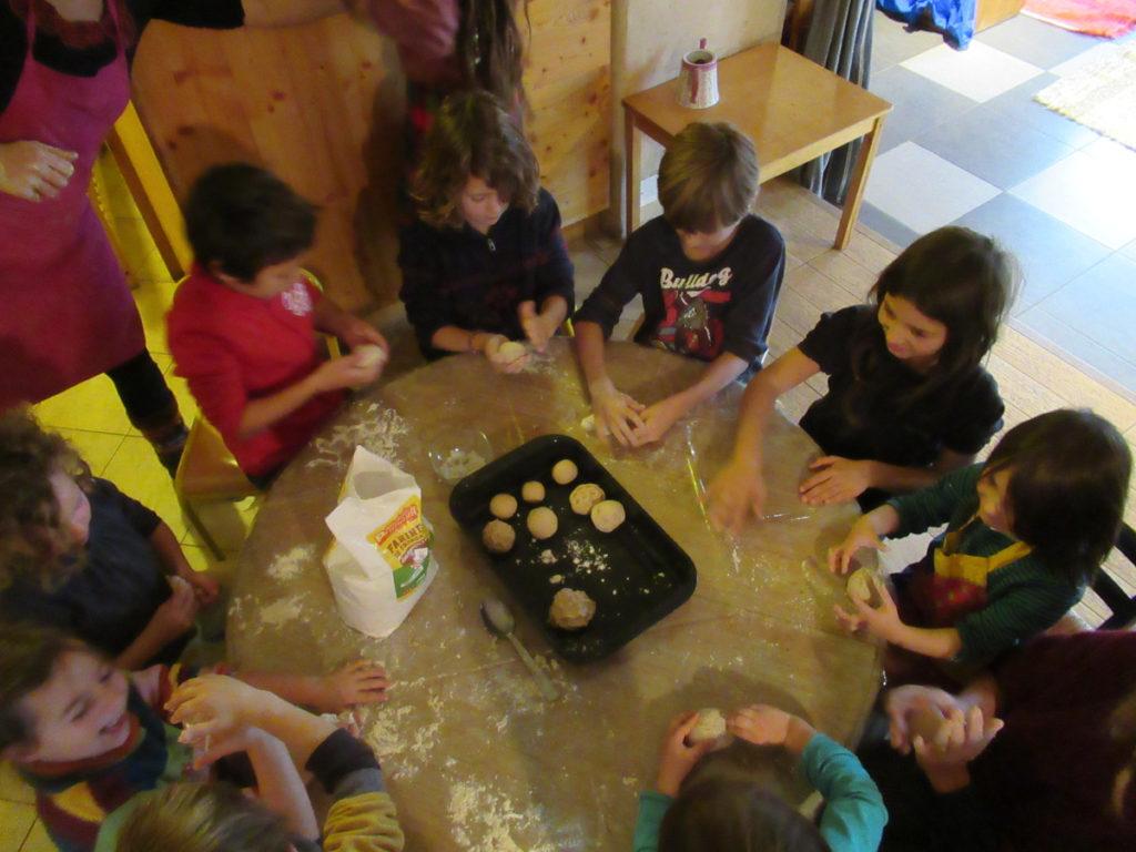 Ecole d'Eourres - Atelier Pain